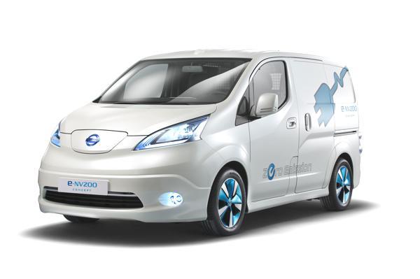 Bild: © NISSAN CENTER EUROPE GmbH / 2012 - Der Nissan e-NV200 Panel Van Concept - ein elektrisch betriebener Kastenwagen.