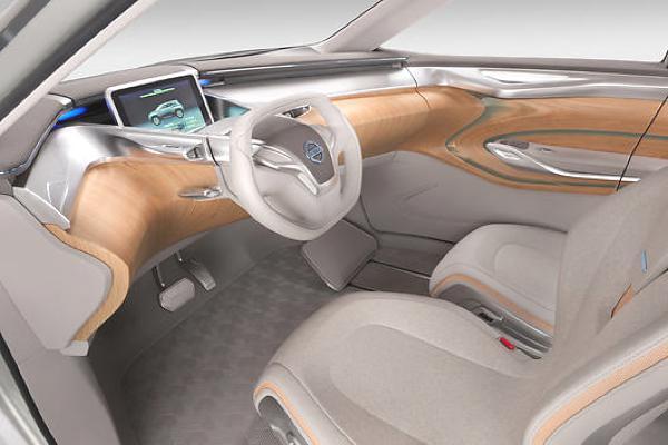 SUV als Elektroauto mit innovativem Innenraum