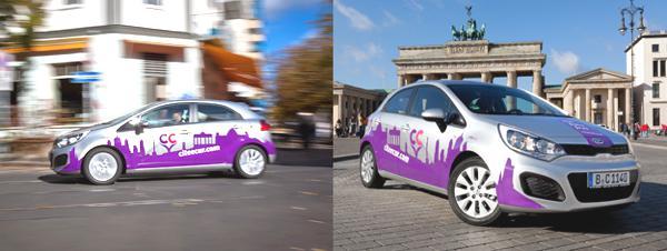 Bild: © CiteeCar / 2012 - Zunächst steht eine 100 Fahrzeug starke Flotte zur Verfügung