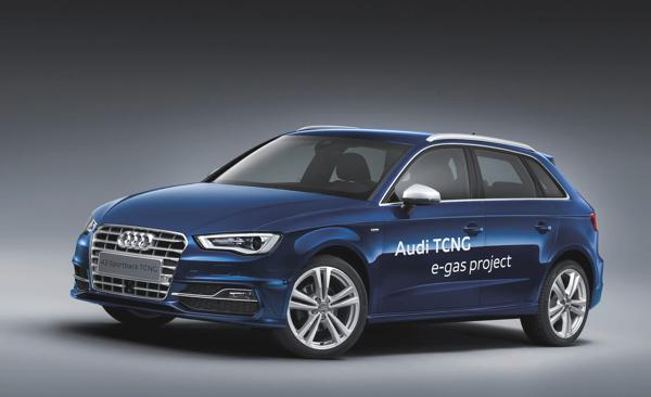 Bild: © Audi 2012 - Der Audi A3 TCNG kommt 2013 auf die Straßen