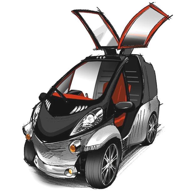 Bild: © Toyota - Der Toyota Smart Insect - Ein Erster Eindruck des kleinen Elektroautos