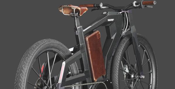 Bild: © PG Bikes 2012 - Das Blacktrail 2 von PG besteht aus einem extrem robusten E-Bike-Leichtbaurahmen und  Metallkomponenten aus spezieller Luft- und Raumfahrtlegierung.