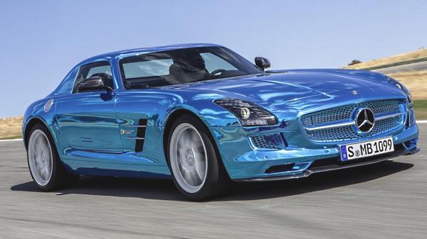 Bild: © Mercedes Benz / Daimler - 2012 - Der Mercedes SLS AMG Coupé Electric Drive kommt 2013 auf die Straßen