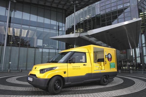 Bild: © Deutsche Post DHL - 50 elektrische StreetScooter sind bei der Deutschen Post derzeit eingeplant