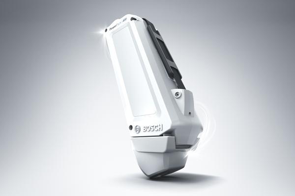 Bild: © Bosch eBike Systems - Das neue Akku-Modell bringt 30 Prozent mehr Leistung als sein Vorgänger