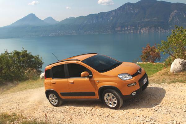 Bild: © Fiat  - Fiat Panda Trekking erweitert Modelpalette
