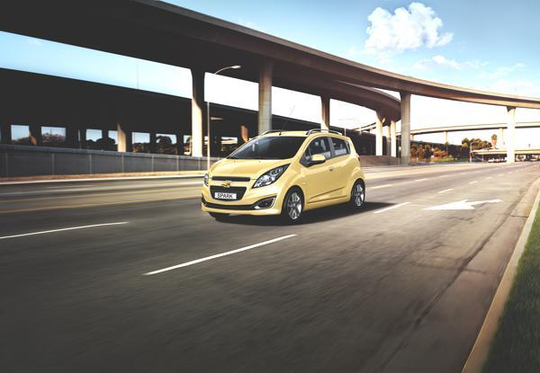 """Bild: © Chevrolet - Der Chevrolet Spark (Bild) soll ab 2013 als Elektroversion """"EV"""" erhältlich sein"""