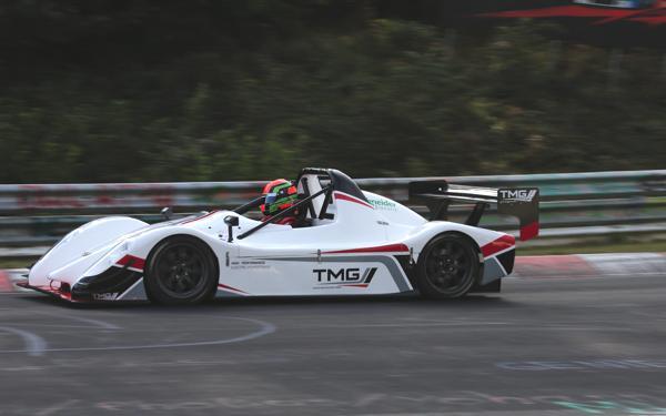 Bild: © Toyota - Mit dem TMG EV P002 holte Toyota einen neuen Bestzeitrekord für Elektroautos am Nürburgring