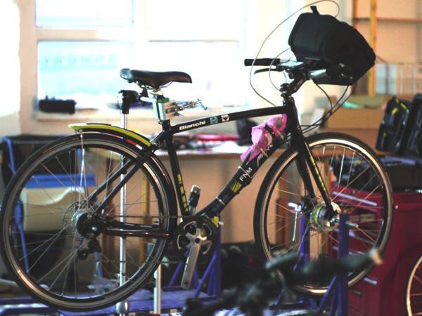 Bild: © Giovanni Alli (move.dei.polimi.it) - Prototyp des Bike+ bei einem Test im Herbst 2012