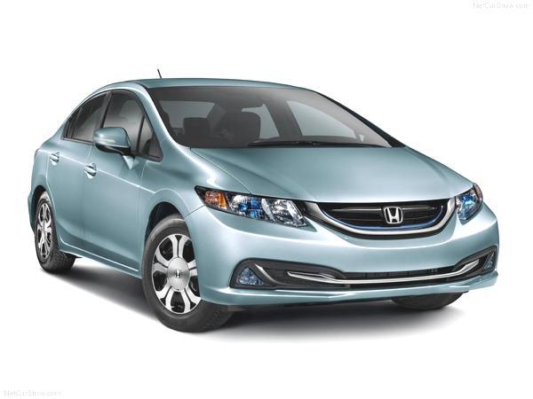 Bild: © Honda - 2012 - Hondas 2013er Civic Hybrid als Limousine wird in Europa nicht erhältlich sein.