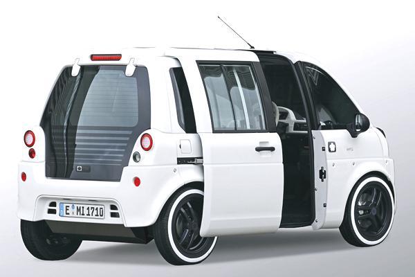 Bild: © mia - 2012 - Die mia wurde von Beginn an als reines Elektroauto konzipiert und als solches optimiert.