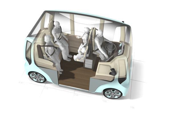 Bild: © Rinspeed - Die schweizer Version moderner Mobilität für die Großstadt