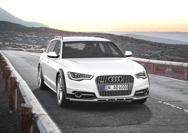 Bild: © Audi/Auto-Reporter.NET - Schon das Design des A6-Familienmitglieds allroad quattro entzückt Kritiker