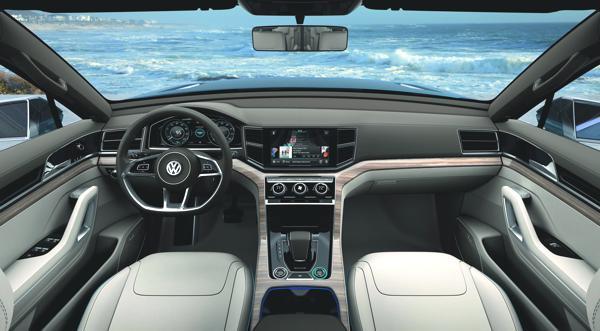 Bild: © VW/Auto-Reporter.NET - Komfort und Eleganz dominieren im Inneren